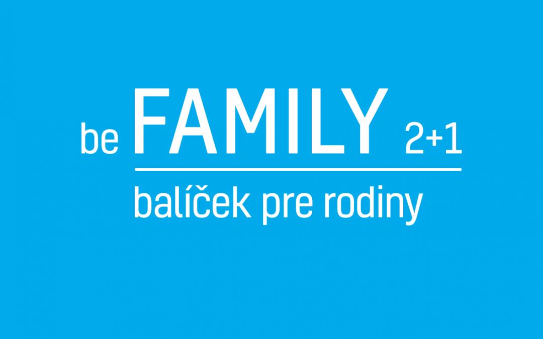 be FAMILY 2+1